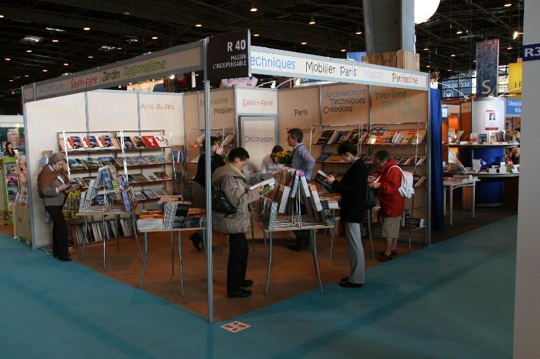 Salon du livre 2008 for Salon creatif porte de versailles